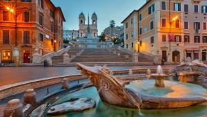 La place d'Espagne ROME